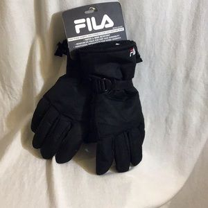 FILA Mens Water & Wind Resistant Gloves Size XL